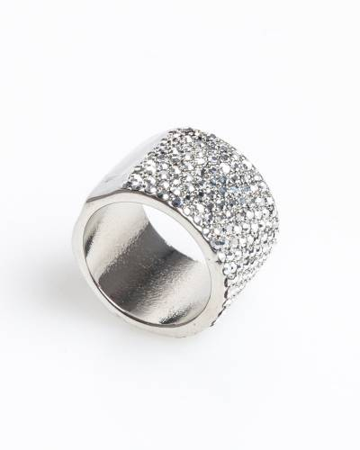 Exclusive Pave Wide Ring