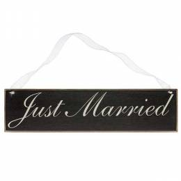 Collins Painting and Design Just Married Sign Board
