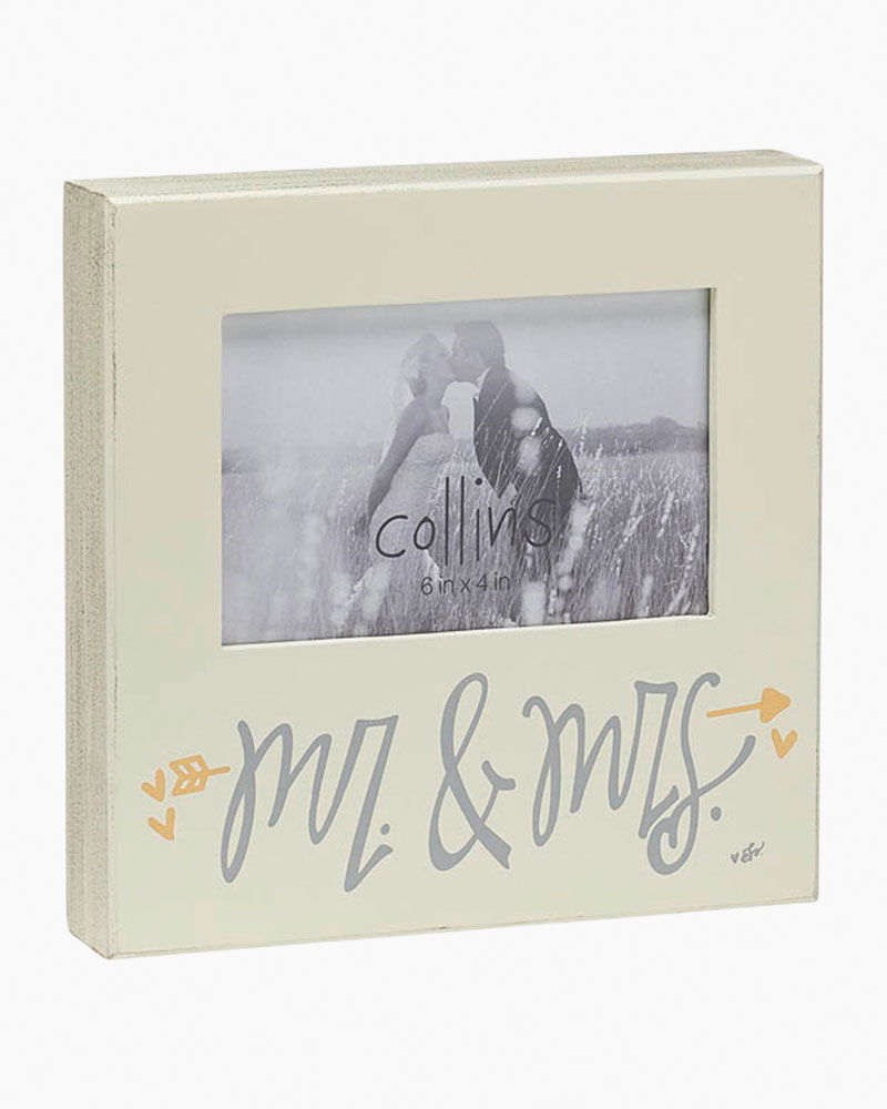 Collins Painting and Design Mr. & Mrs. White Photo Frame