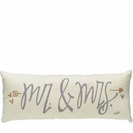 Collins Painting and Design Mr. and Mrs. White Pillow