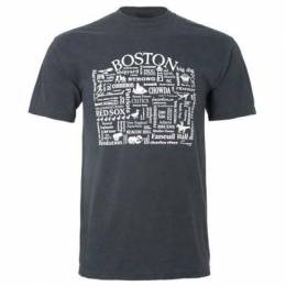 Where Life Takes You Words of Boston Tee