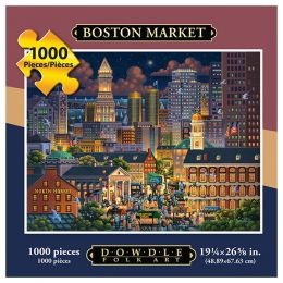 Dowdle Folk Art Boston Market Puzzle (1000 pc)