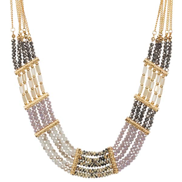 Mia and Tess Multi-Strand Statement Necklace