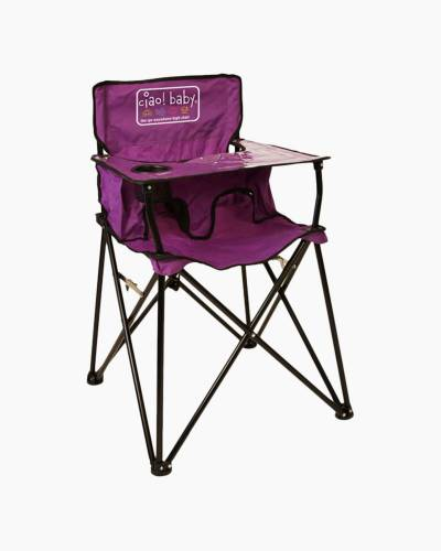 ciao! baby Portable High Chair in Purple