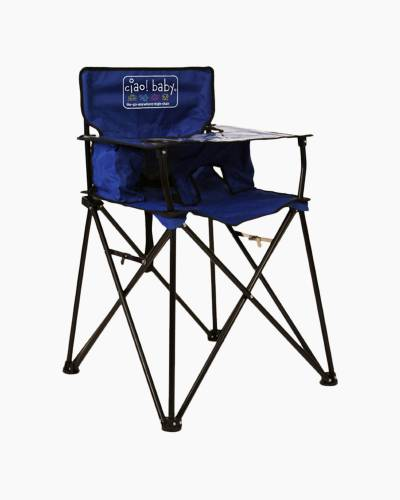 ciao! baby Portable High Chair in Blue