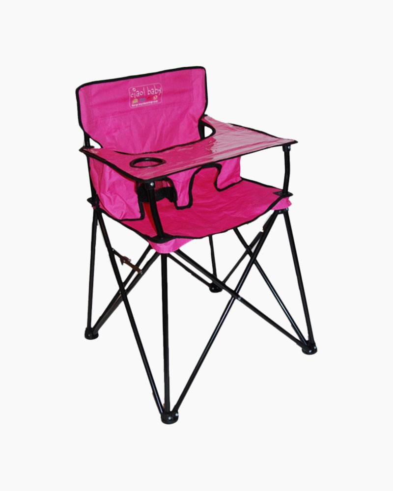 Awesome Ciao Baby Portable High Chair In Pink Gmtry Best Dining Table And Chair Ideas Images Gmtryco