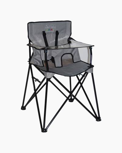 ciao! baby Portable High Chair in Grey