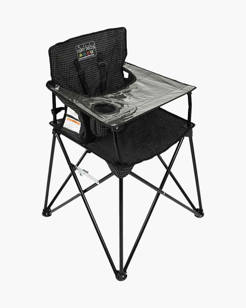 Magnificent Ciao Baby Portable High Chair In Black Check Gmtry Best Dining Table And Chair Ideas Images Gmtryco