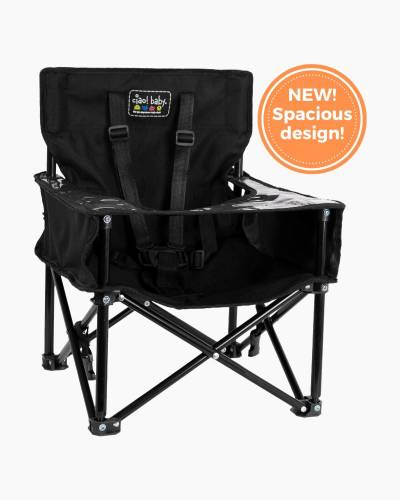ciao! baby Pug Booster Chair in Black