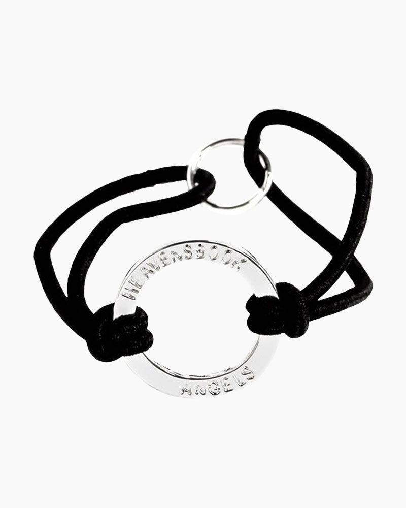 Heavensbook Angels Heavensbook Halo Bracelet (Black)