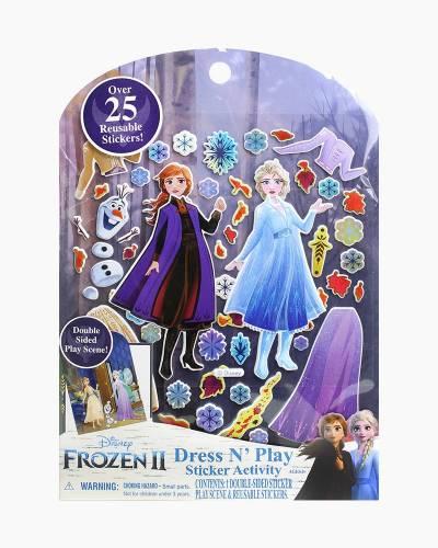 Frozen 2 Dress N Play Sticker Activity Set