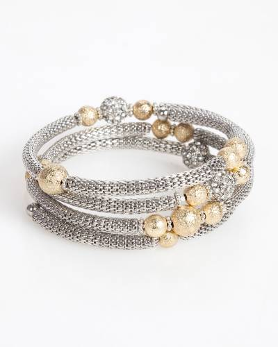 Exclusive Mesh Coil Bracelet