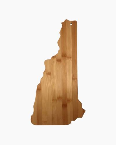New Hampshire Bamboo Cutting Board