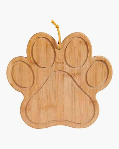 Paw Print Bamboo Cutting Board