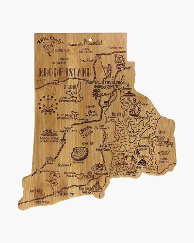 Destination Rhode Island Bamboo Cutting Board