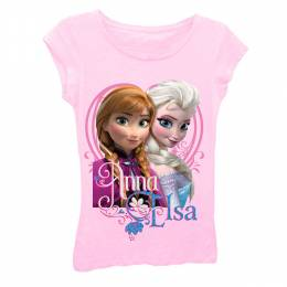 Disney Disney's Frozen Anna and Elsa Girl's Tee