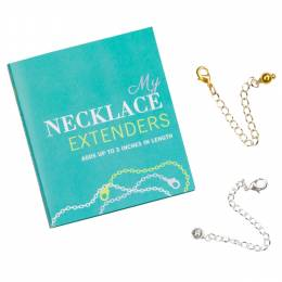 My Back Up Backs My Necklace Extenders (Set of 2)