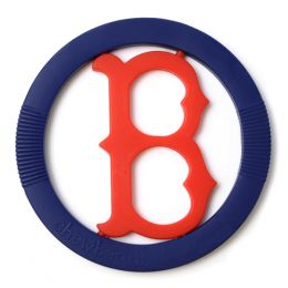 Chewbeads Boston Red Sox Silicone Teether