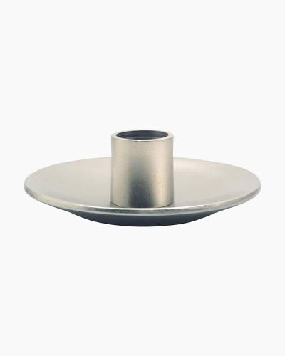 Taper Candle Pewter Holder