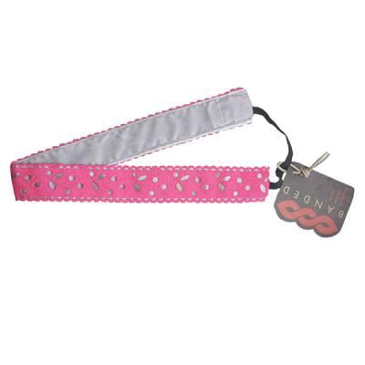 Pink Cutout Headband