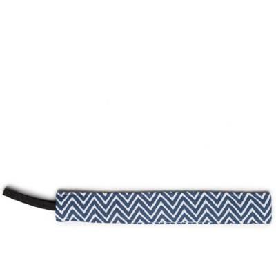 Thin Navy Chevron Headband