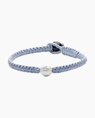 Lokai 2.0 Single Wrap Bracelet in Ice Blue