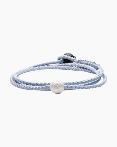 Lokai 2.0 Triple Wrap Bracelet in Ice Blue