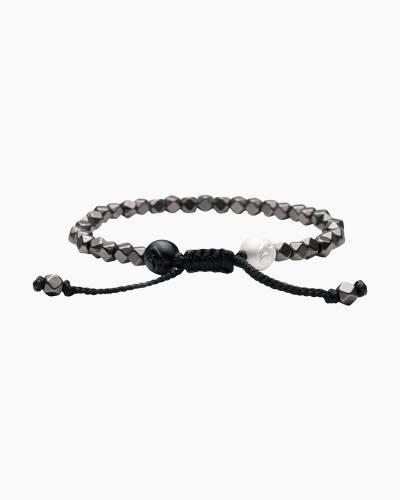Lokai 2.0 Multi Bead Bracelet in Gunmetal