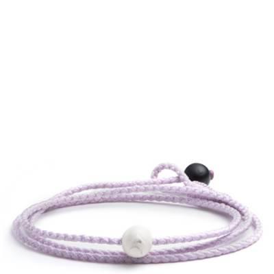 Lokai 2.0 Triple Wrap Bracelet in Lilac