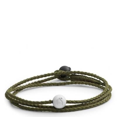 Lokai 2.0 Triple Wrap Bracelet in Olive