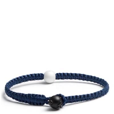 Lokai 2.0 Single Wrap Bracelet in Navy