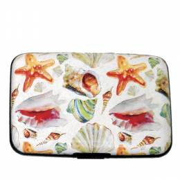 FIG Design Group Watercolor Shells Armored Wallet