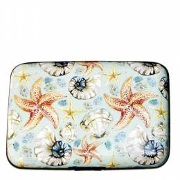 FIG Design Group Starfish and Shells Armored Wallet