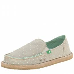 Sanuk Women's Mint Dots Hot Dotty Espadrille