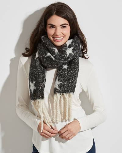 Stargazing Scarf with Fringe