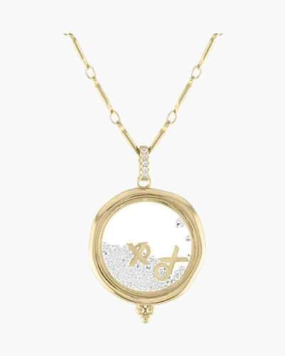 XOXO Gold Shaker Necklace