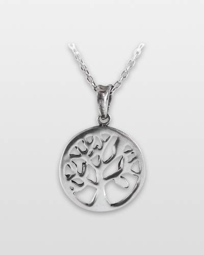 Tree Pewter Necklace