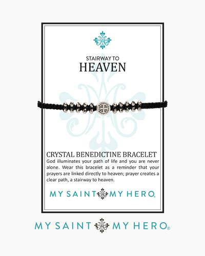 Stairway to Heaven Crystal Benedictine Bracelet