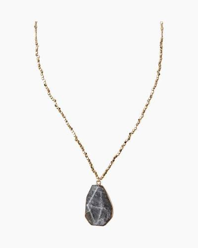 Exclusive Labradorite Stone Pendant Necklace