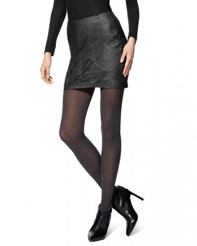 Super Opaque Tights with Control Top in Navy