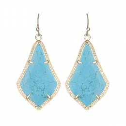 Kendra Scott Alex Earrings in Turquoise