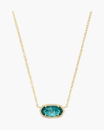 London Blue Elisa Silver Pendant Necklace