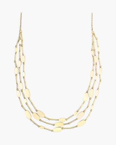 Channing Layered Necklace in Gold