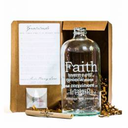 Studio Penny Lane Faith Apothecary Jar