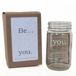 Studio Penny Lane Be You Mason Jar