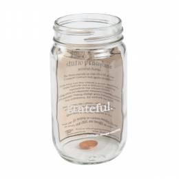 Studio Penny Lane Be Grateful Mason Jar