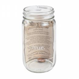 Studio Penny Lane Be True Mason Jar