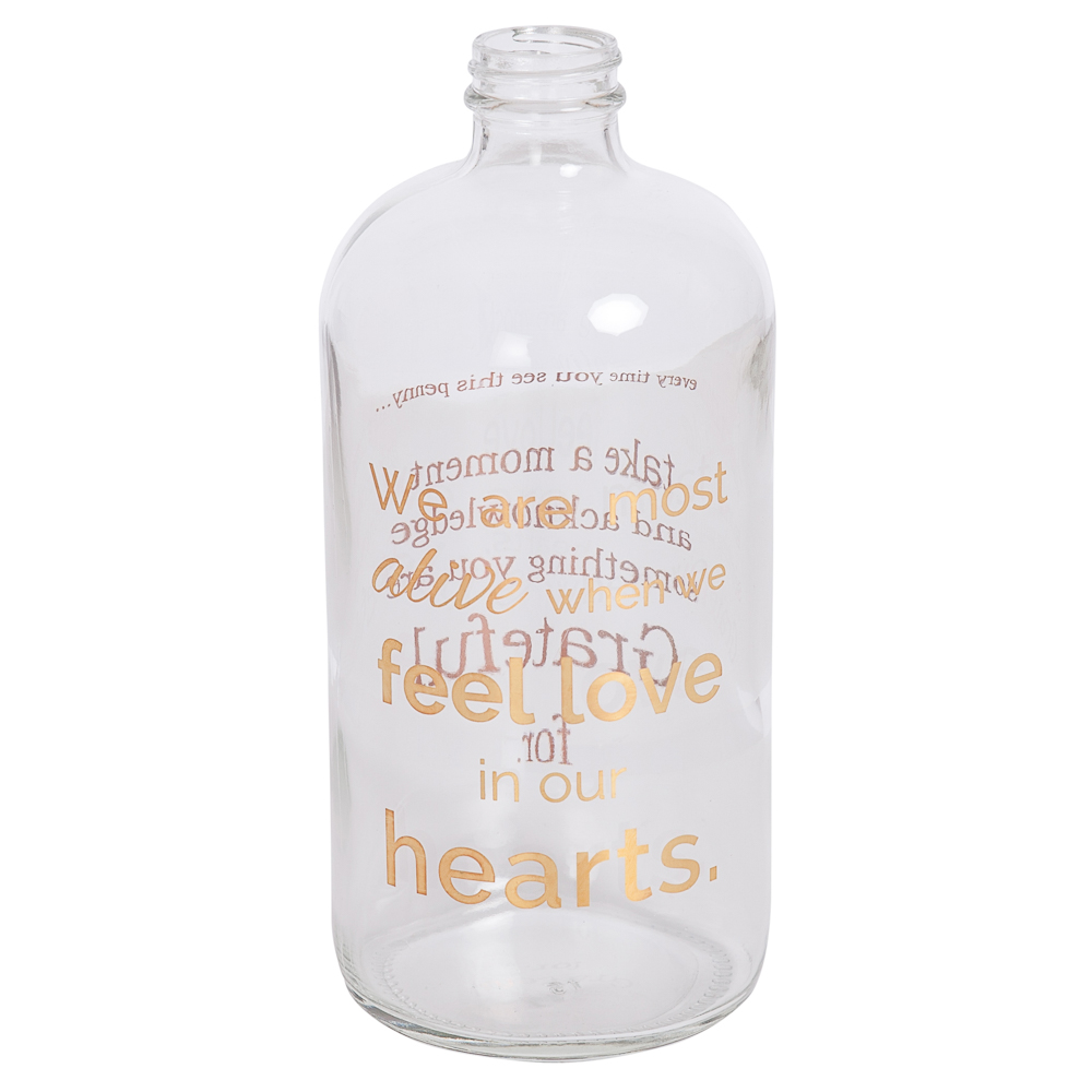 We Are Most Alive Apothecary Memory Jar