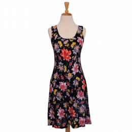 Fantazia Bright Floral Pattern Dress