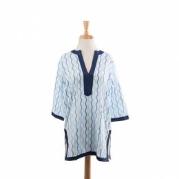 Malabar Bay Blue Rope Tunic